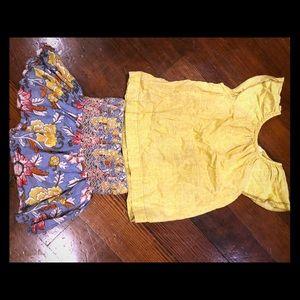 Peek kids skirt and top